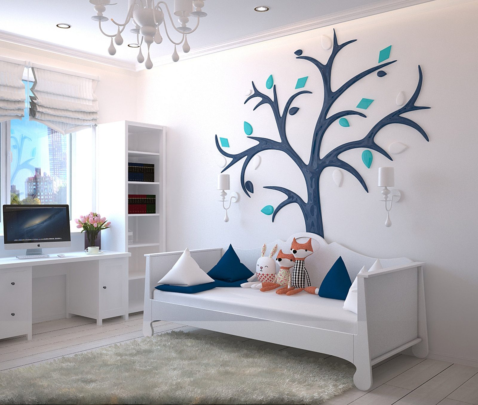 Вътрешен дизайн на детска стая
